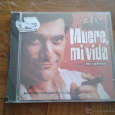 CDs de Música: CD PRECINTADO BANDA SONORA ORIGINAL CINE ESPAÑOL MUERE, MI VIDA GEORGES CORRAFACE LOLES LEÓN. Lote 78184270