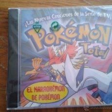 CDs de Música: CD NUEVO PRECINTADO POKÉMON POKEMON TOTAL SERIE TV TELEVISIÓN EL KARAOKÉMON 19 TEMAS. Lote 58341712