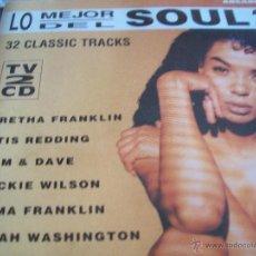 CDs de Música: LO MEJOR DEL SOUL 2. Lote 43250674