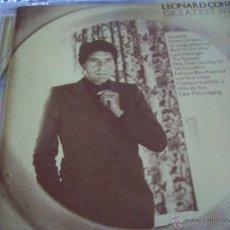 CDs de Música: LEONARD COHEN GREATEST HITS. Lote 43254078