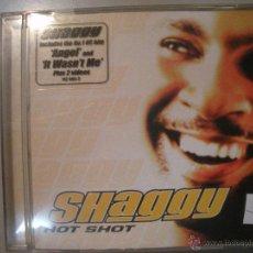 CDs de Música: MAGNIFICO CD - DE - SHAGGY - HOT - SHOT -. Lote 43270005