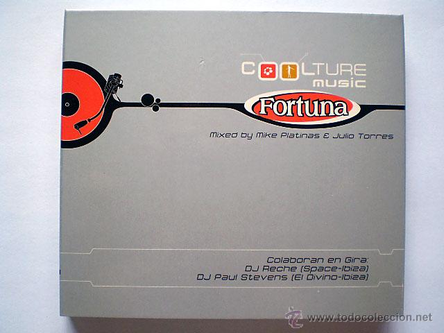 MIKE PLATINAS, JULIO TORRES: FORTUNA. COOL TURE COOLTURE MUSIC (2 CD) NUEVO (Música - CD's Disco y Dance)