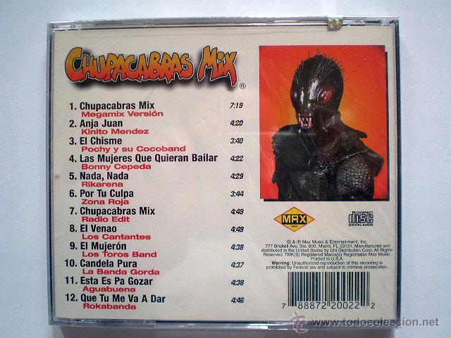 CDs de Música: Toni Tony Peret, José Mª Castells: Chupa Cabras Chupacabras Mix (Max Music) CD (PRECINTADO) - Foto 2 - 43272937