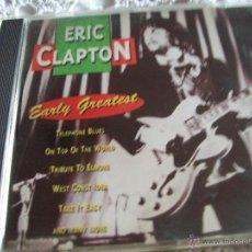 CDs de Música: ERIC CLAPTON EARLY GREATEST. Lote 43278537