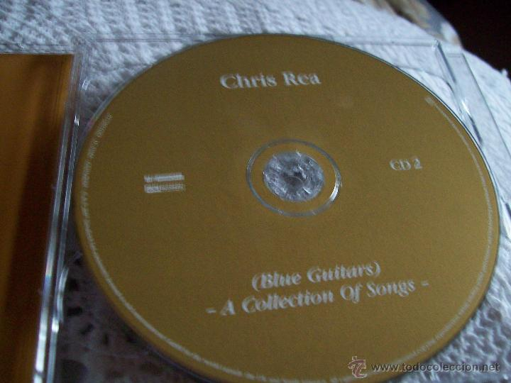 CDs de Música: Chris Rea Blue Guitars A Collection of Songs - Foto 2 - 43279073