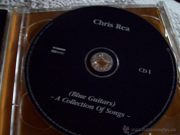 CDs de Música: Chris Rea Blue Guitars A Collection of Songs - Foto 3 - 43279073