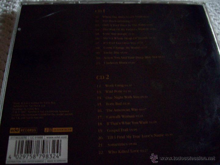 CDs de Música: Chris Rea Blue Guitars A Collection of Songs - Foto 5 - 43279073