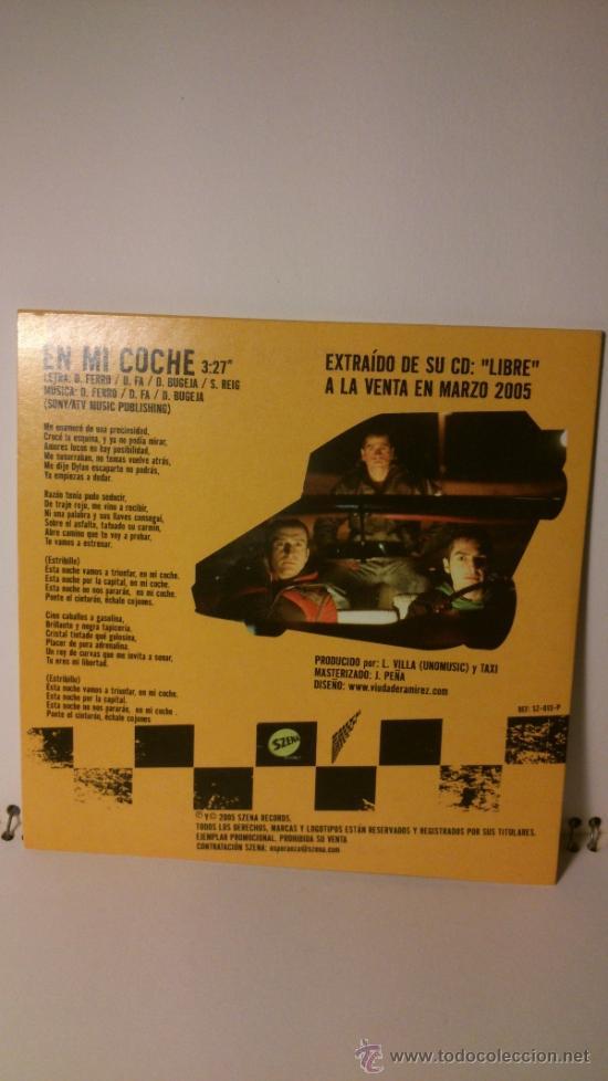 CDs de Música: SINGLE TAXI - EN MI COCHE - Foto 2 - 43297421