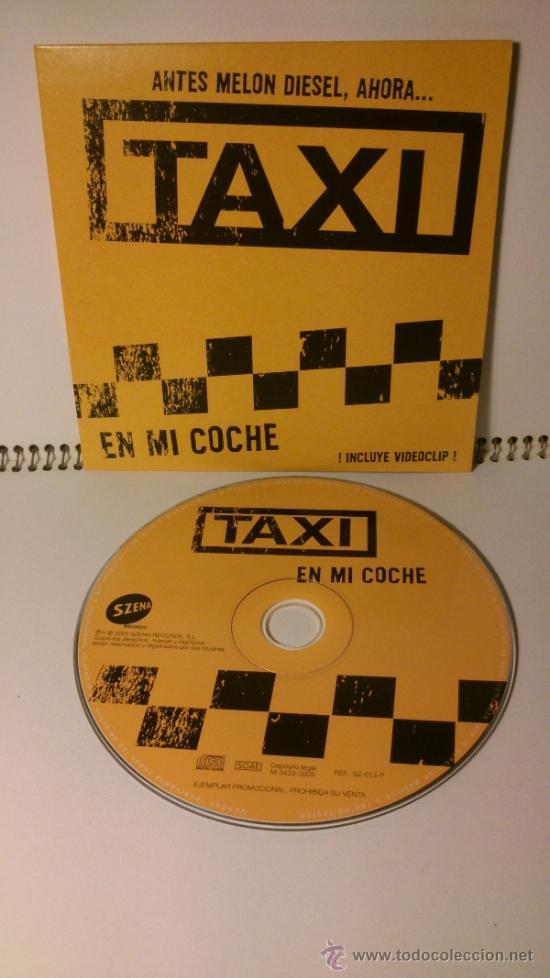 CDs de Música: SINGLE TAXI - EN MI COCHE - Foto 3 - 43297421