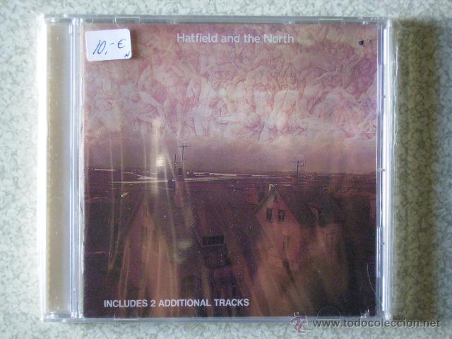 HATFIELD AND THE NORTH..SAME (2 TEMAS EXTRA)..ROCK PROGRESIVO (Música - CD's Rock)