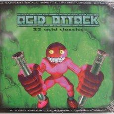 CD de Música: ACID ATTACK - 22 ACID CLASSICS - VOLUMEN 1 - 2 CD'S - DIGIPACK - MACHINE HEAD - NUEVO PRECINTADO. Lote 43358473