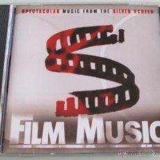 CDs de Música: BSO - FILM MUSIC - CD - JAMES BOND / MARS ATTACKS / CAPTAIN BLOOD / EL CID / THE ROCK - COMO NUEVO. Lote 43364512