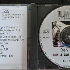 CDs de Musique: CD MÚSICA DE JAZZ; BEN WEBSTER; DE LO MEJOR DEL JAZZ; BUEN ESTADO. Lote 43374895
