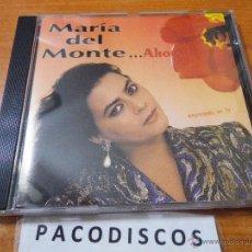CD de Música: MARIA DEL MONTE AHORA CD ALBUM DEL AÑO 1991 CONTIENE 11 TEMAS. Lote 43385663