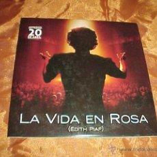 CDs de Música: LA VIDA EN ROSA. EDITH PIAF. BSO. CD PROMOCIONAL. Lote 43394961