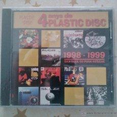CDs de Música: 4 ANYS DE PLASTIC DISCS NUEVO Y PRECINTADO PUNK OI SKA SOUL REGGAE. Lote 43401776