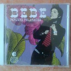 CDs de Música: BEBE PAFUERA TELARAÑAS CD POP ROCK FUSION MESTIZAJE. Lote 43401965