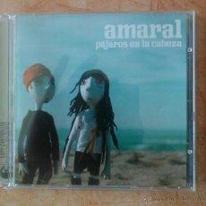 CDs de Música: AMARAL PAJAROS EN LA CABEZA CD POP. Lote 43402061