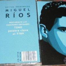 CDs de Música: MIGUEL RIOS-MIKE RIOS CD EXITOS ORIGINALES ESPAÑA 2008. Lote 43416104