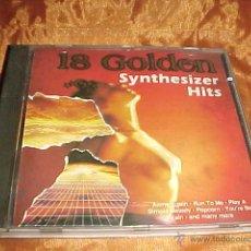 CDs de Música: 18 GOLDEN SYNTHESIZER HITS. CD EDICION HOLANDESA. Lote 43431732