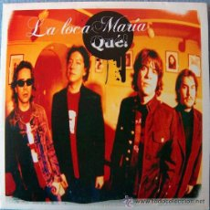 CDs de Música: LA LOCA MARIA - QUE! - CD SINGLE SZENA RECORDS - 2005 !! NUEVO !!!!!!!!. Lote 43463222