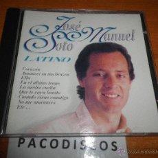 CDs de Música: JOSE MANUEL SOTO LATINO CD ALBUM DEL AÑO 1997 CONTIENE 9 TEMAS. Lote 43490473