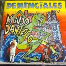 CDs de Música: DEMENCIALES, MUNDO DANTESCO - CD. Lote 33517869