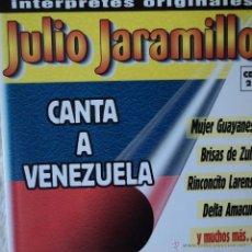 CDs de Música: JULIO JARAMILLO - CANTA A VENEZUELA - EDICIÓN DE 1999 DE ESPAÑA. Lote 43517273