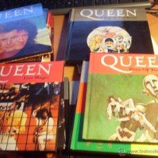 CDs de Música: LOTE QUEEN 16 CD BOOK LIBROS (AT). Lote 43519807