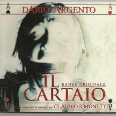 CDs de Música: CLAUDIO SIMONETTI - O.S.T. IL CARTAIO (CD CINEFONIA 2004) DARIO ARGENTO. Lote 43527106