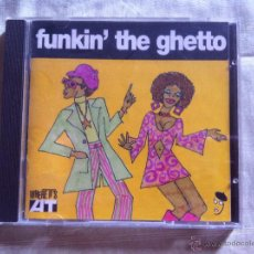 CDs de Música: CD FUNKIN' THE GHETTO-VARIOS. Lote 43551563