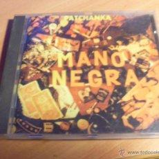 CDs de Música: MANO NEGRA (PATCHANKA) CD 14 TRACKS ESPAÑA CONSERVAS SUPERSONICAS 1995 RARO SIN CODIGO BARRAS (CD18). Lote 43554922