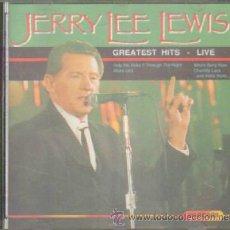 CDs de Música: JERRY LEE LEWIS. GREATEST HITS - LIVE. CD-SOLEXT-475. Lote 43571625