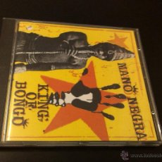 CDs de Música: MANO NEGRA - KING OF BONGO (CD,. Lote 43572536