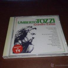 CDs de Música: CD UMBERTO TOZZI - GRANDES EXITOS. Lote 43592519