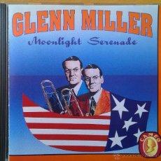 CDs de Música: GLENN MILLER- MOONLIGHT SERENADE- 16 TRACKS CLÁSICOS DEL AUTÉNTICA BANDA DE GLENN MILLER-. Lote 43646004