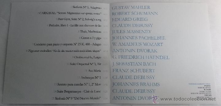 CDs de Música: Classic Jazz Club Relax. Cd - Foto 4 - 43665772