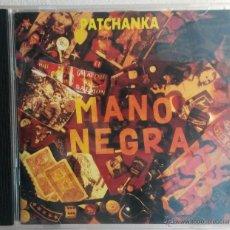 CDs de Música: MANO NEGRA. PATCHANKA. CD. EDICIÓN FRANCESA. Lote 43666073