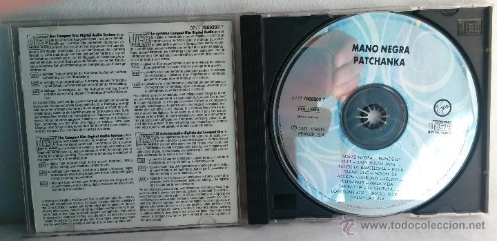 CDs de Música: Mano Negra. Patchanka. Cd. Edición francesa - Foto 3 - 43666073