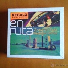 CDs de Música: 2 CD NUEVOS PRECINTADOS EN RUTA CON DOS JUEGOS MAGNÉTICOS (PARCHÍS + FÚTBOL) DE REGALO. Lote 43669914