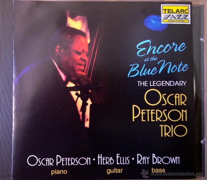 THE LEGENDARY PETERSON TRIO (HERB ELLIS, GUITAR-RAY BROWN,BASS)-ENCORE AT THE BLUE NOTE- segunda mano