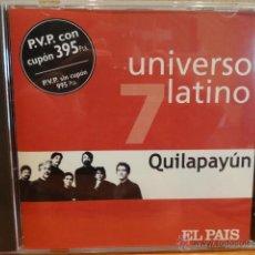CDs de Música: QUILAPAYÚN. COL. UNIVERSO LATINO - 7. CD / MUXXIC - 2001. 12 TEMAS. CALIDAD LUJO.. Lote 43697669