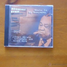 CDs de Música: ROOSEVELT SIKES, JOHNNIE SHINES LOUISIANA RED, MUSIC IS MY BUSSINES. Lote 43723092