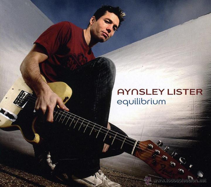 AYNSLEY LISTER * CD * EQUILIBRIUM * LTD DIGIPACK * PRECINTADO (Música - CD's Rock)