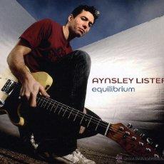 CDs de Música: AYNSLEY LISTER * CD * EQUILIBRIUM * LTD DIGIPACK * PRECINTADO. Lote 194253063