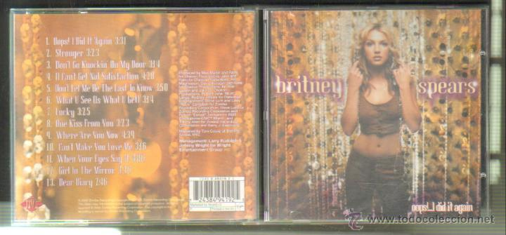 Britney Spears Oops I Did It Again Buy Cd S Of Pop Music At Todocoleccion 55705146