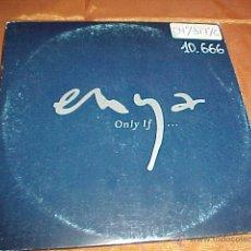 CDs de Música: ENYA. ONLY IF ... CD PROMOCIONAL. Lote 43728784