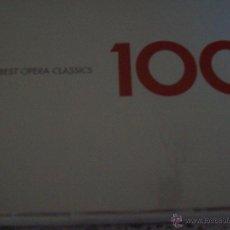 CDs de Música: 100 BEST OPERA CLASSICS 6 CD. Lote 43746867