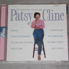 CDs de Música: PATSY CLINE - THE ESSENTIAL COLLECTION - 30 TACKS - CD. Lote 43753175