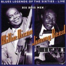 CDs de Música: WILLIE DIXON/JIMMY REED- BIG BOSS MEN,CD. Lote 43756256